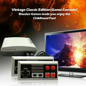 Mini HDMI Retro Classic Game Consoles Built-in 600 Childhood Classic TV Video Games with Dual Control