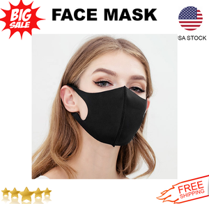 3PCS MOUTH AND NOSE COVER FASHIONABLE WASHABLE FACE/MASKS
