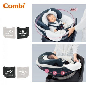 Combi CulMove Smart Isofix Car Seat (Navy Blue)