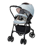 Combi Baby Mechacal Handy 4Cas stroller (Mint Blue)