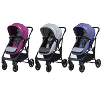 COMBI I-Thruller 4W ( Purple )/( Grey )/( Navy Blue ) Stroller 9.3kg1mth~48mthsReversible 2 in 1 sea