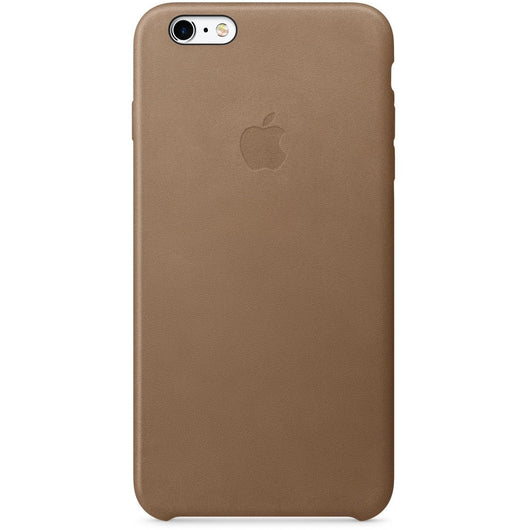 Coffee Brown Leather Case for iPhone 7
