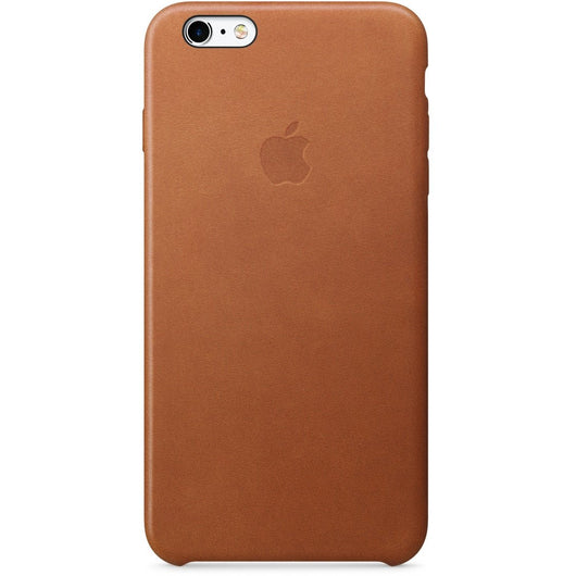 Saddle Brown Leather Case iPhone 6/6S Plus