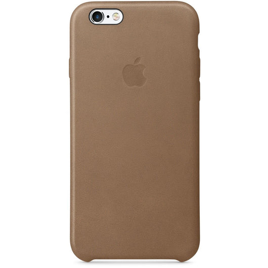 Coffee Brown Leather Case for iPhone 6/6s