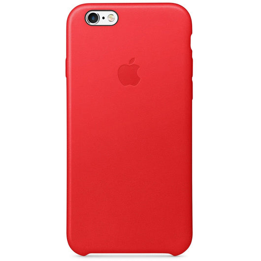 Red Leather Case iPhone 6/6s