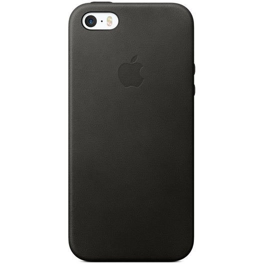 Black Leather Case for iPhone 5/5s/SE
