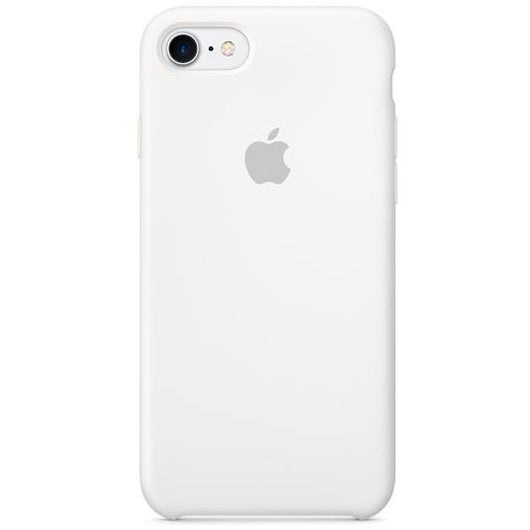 White Silicon Case for iPhone 7