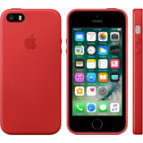 Red Leather Case for iPhone 5/5s/SE