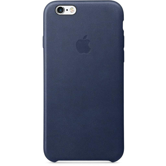 Midnight Blue Leather Case For iPhone 7