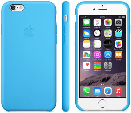 Sky Blue Leather Case for iPhone 6 Plus/6S Plus