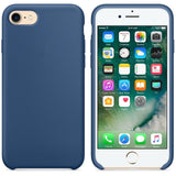 Silicone Case For iPhone 7 and 7 Plus with Logo