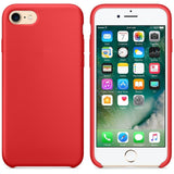 Silicone Case For iPhone 8 and 8 Plus with Logo
