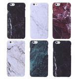 Marble Stone Image Hard Plastic Case For iPhone 8