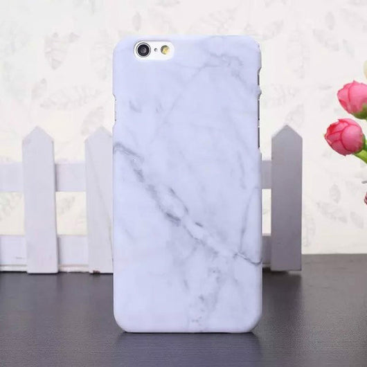 Marble Stone Image Hard Plastic Case For iPhone X