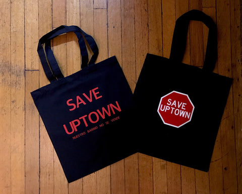 SAVE UPTOWN TOTE BAGS