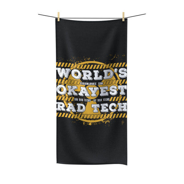 """World's Okayest"" Polycotton Towel"