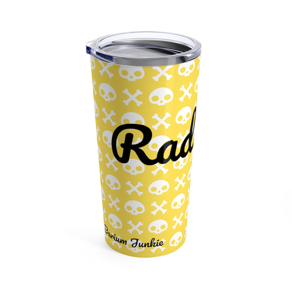Skull & Crossbones Radiology Tumbler 20oz (Yellow) #2