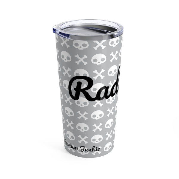 Skull & Crossbones Radiology Tumbler 20oz (Gray) #2