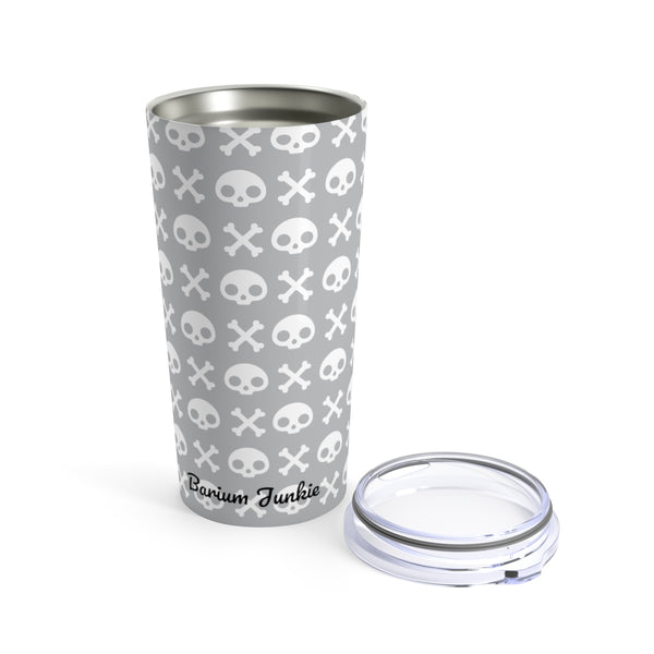 Skull & Crossbones Radiology Tumbler 20oz (Gray)