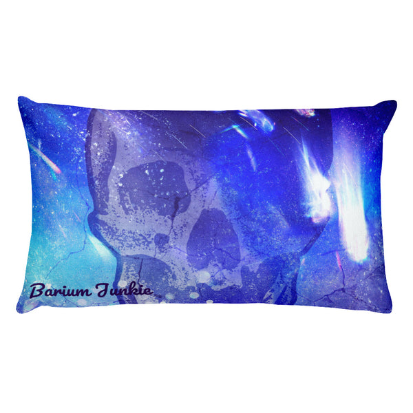 Phantom Zone Skull Rectangular Pillow