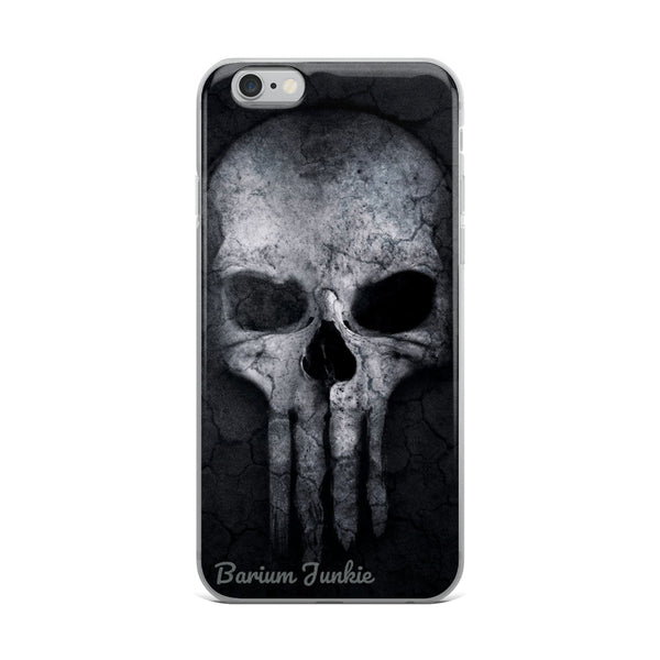 Punisher Skull iPhone Case