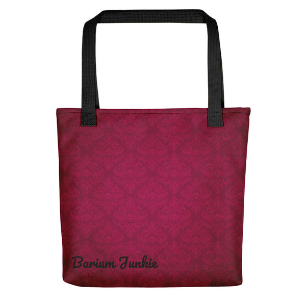 Red Skulls Gothic Tote bag (Red Background) #2