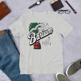 "Barium Junkie ""Barium Rootbeer"" Bella + Canvas 3001 Unisex Short Sleeve Jersey T-Shirt with Tear Away Label"
