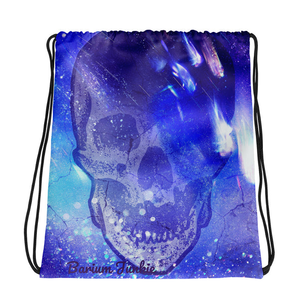 Phantom Zone Skull Drawstring bag