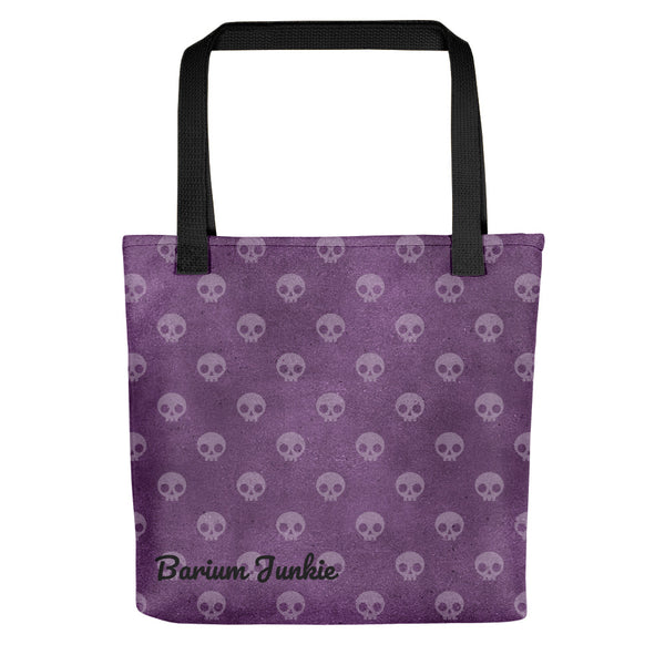 Purple Skulls Tote bag (Purple Background) #2
