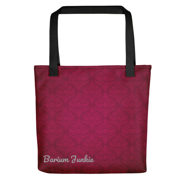 Red Skulls Gothic Tote bag (Red Background)