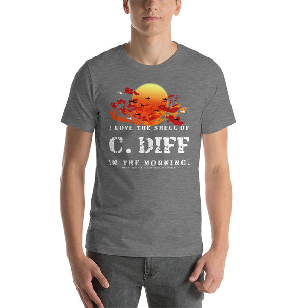 "C. Diff ""Apocalypse Now"" Radiology Tech Short-Sleeve Unisex T-Shirt"