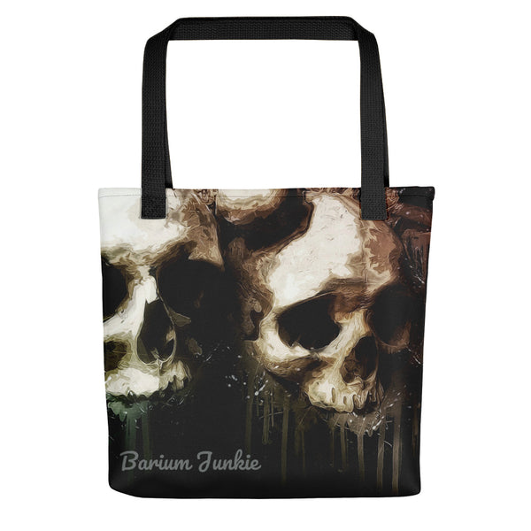 Lover's Skulls Tote bag