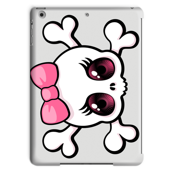 Cute Girl Skull Tablet Case
