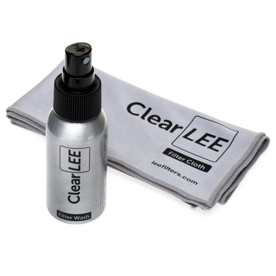 50ml ClearLEE Filter Wash and ClearLEE Cloth