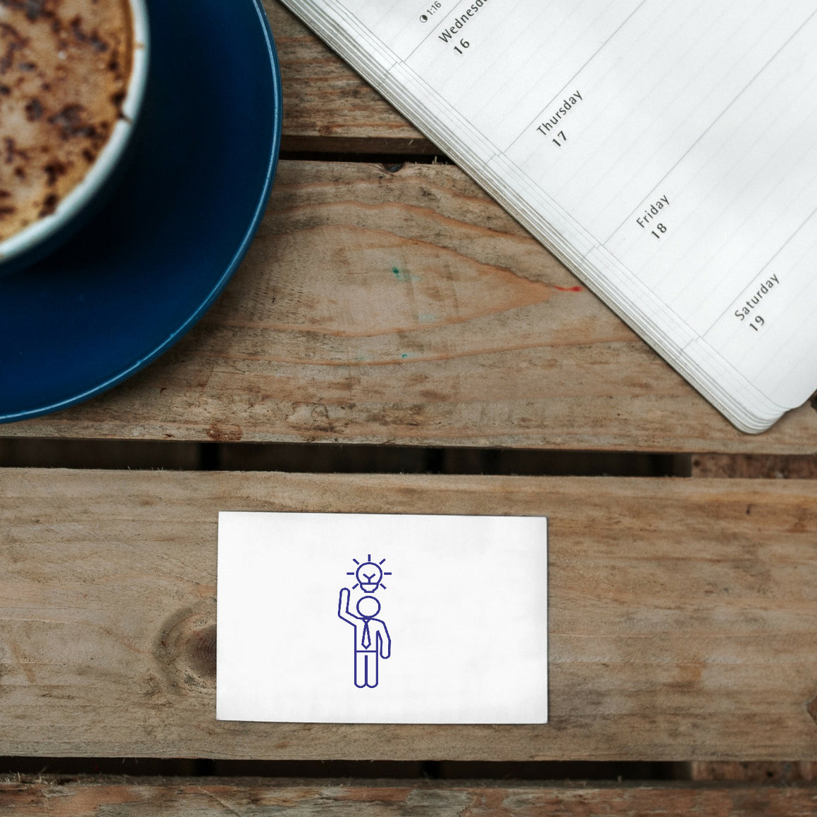 Idea Rubber Stamp