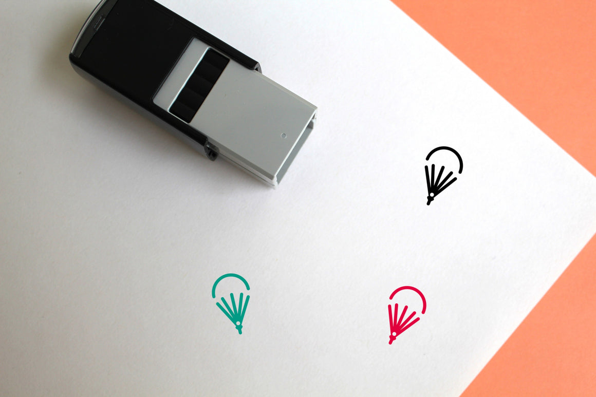 Parachute Self-Inking Rubber Stamp