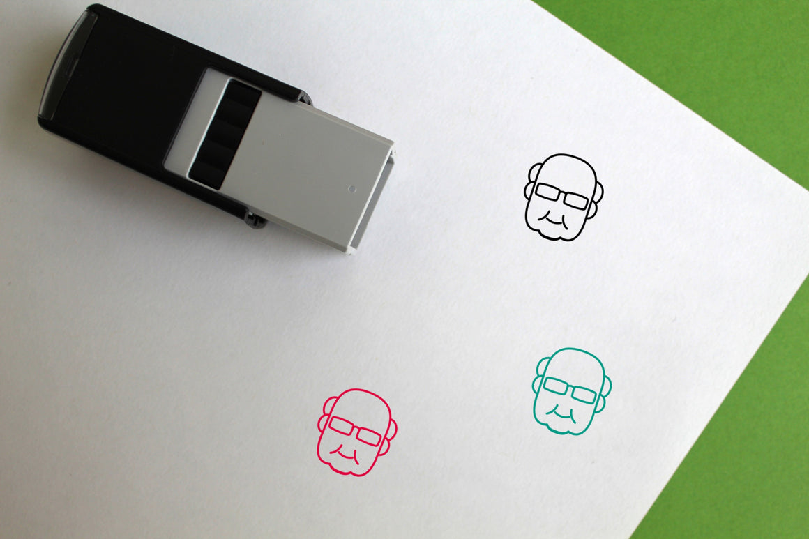 Grandpa Self-Inking Rubber Stamp