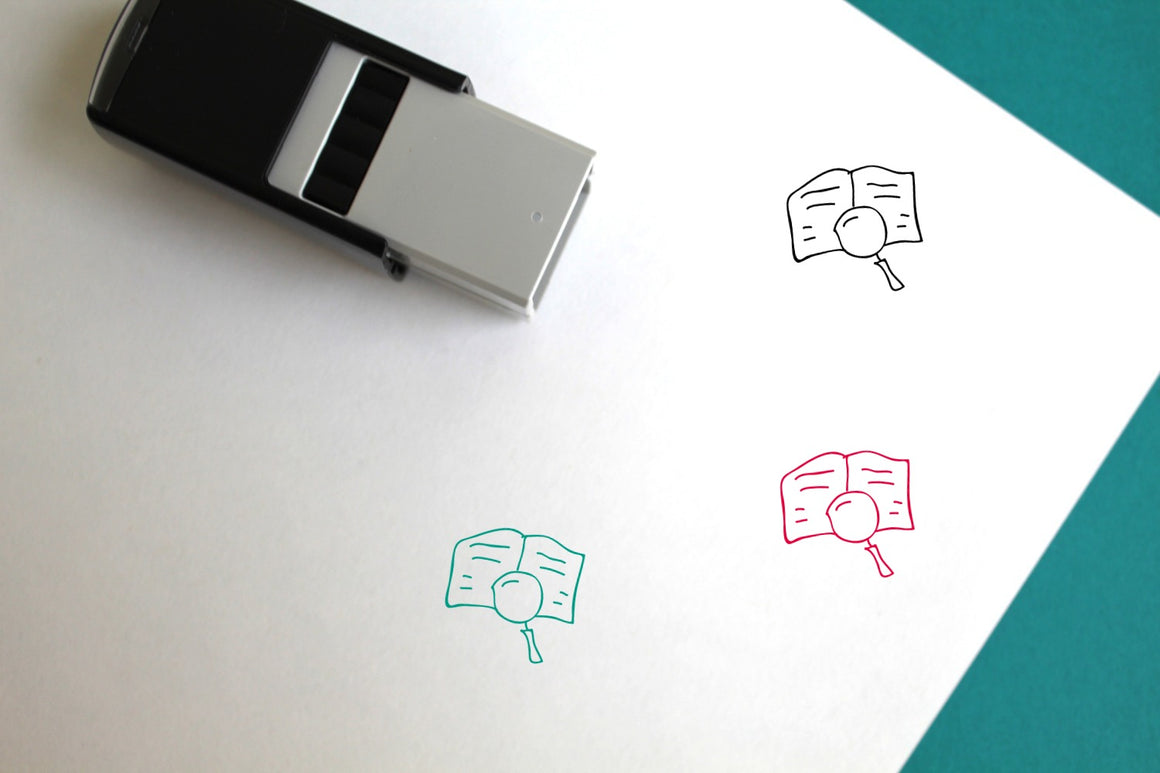 Read Self-Inking Rubber Stamp