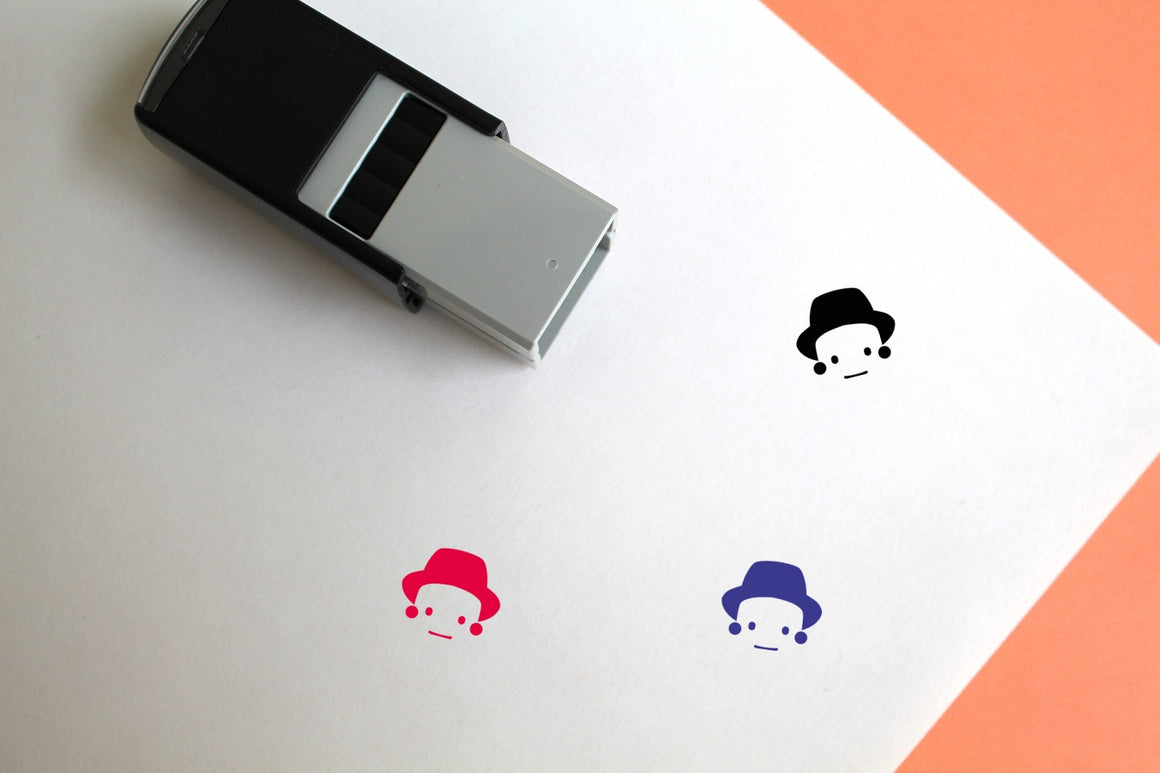 Face Self-Inking Rubber Stamp