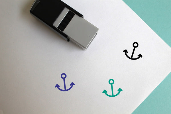 Marine Self-Inking Rubber Stamp