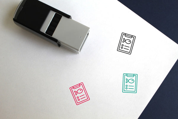 Nautical Self-Inking Rubber Stamp