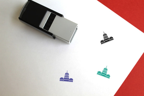 White House Self-Inking Rubber Stamp