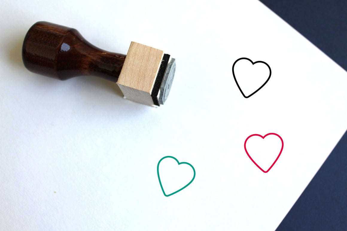 Favorite Wooden Rubber Stamp