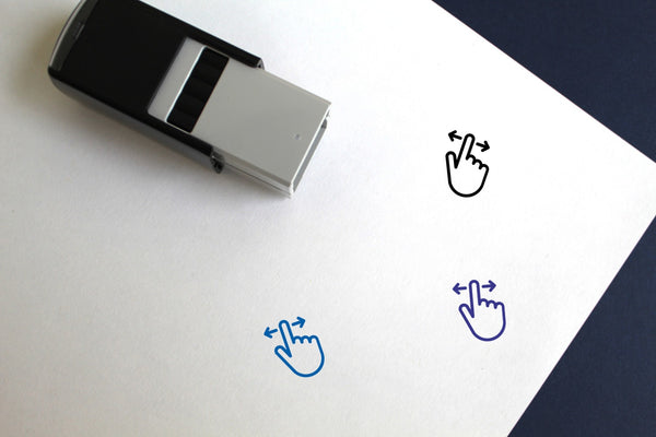 Swipe Self-Inking Rubber Stamp