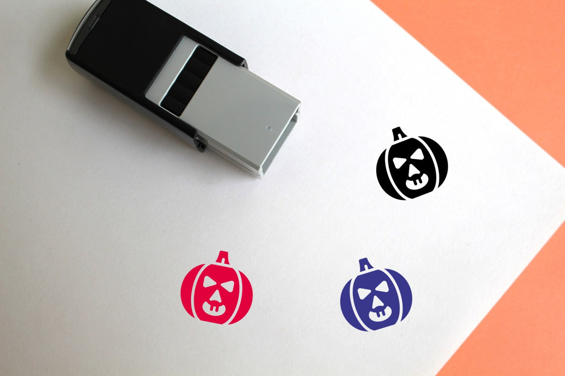 Halloween Self-Inking Rubber Stamp