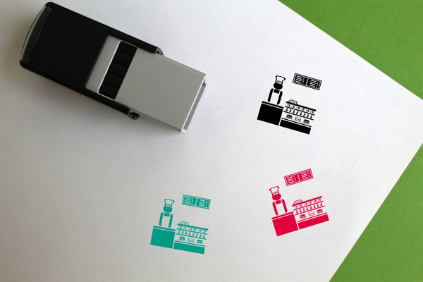 Bakery Self-Inking Rubber Stamp