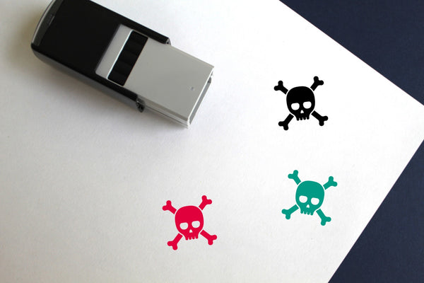 Poison Self-Inking Rubber Stamp