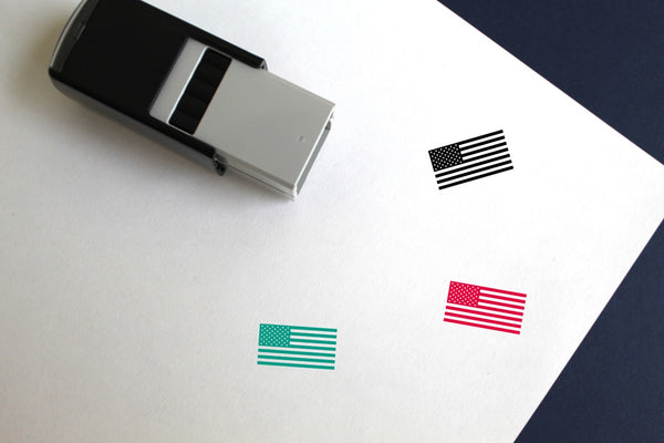 USA Self-Inking Rubber Stamp