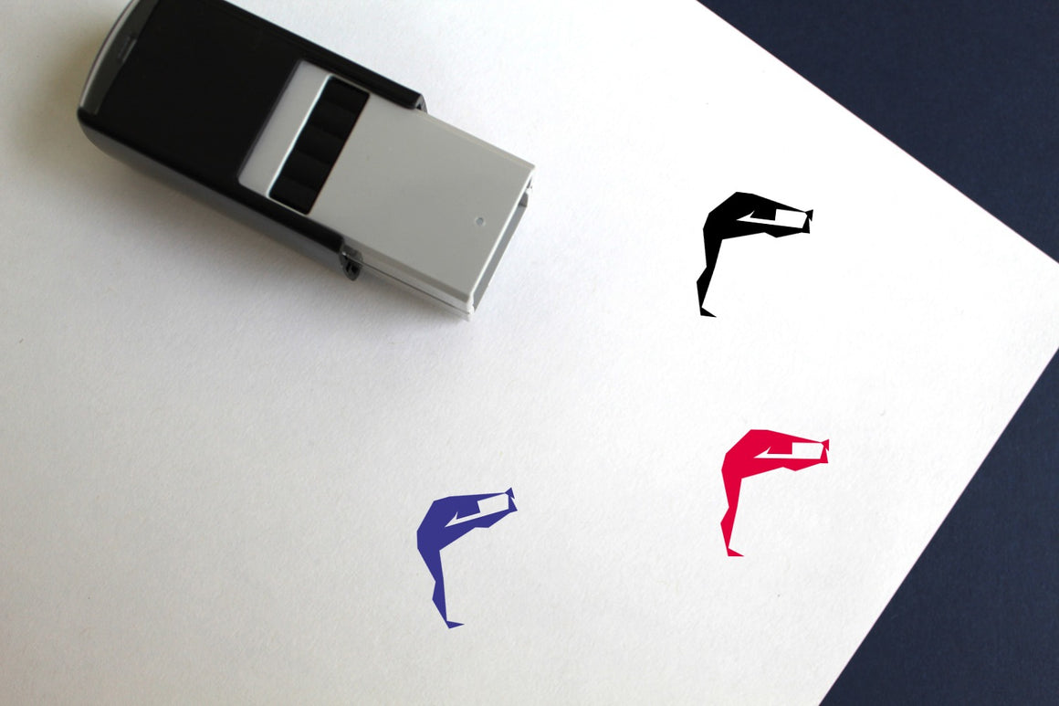 Yoga Self-Inking Rubber Stamp