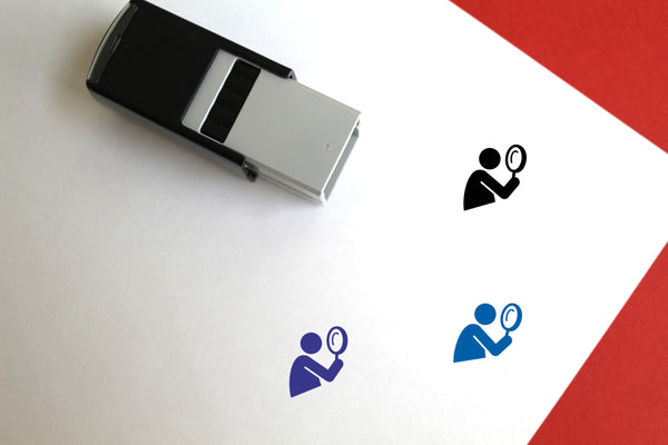 Search Self-Inking Rubber Stamp